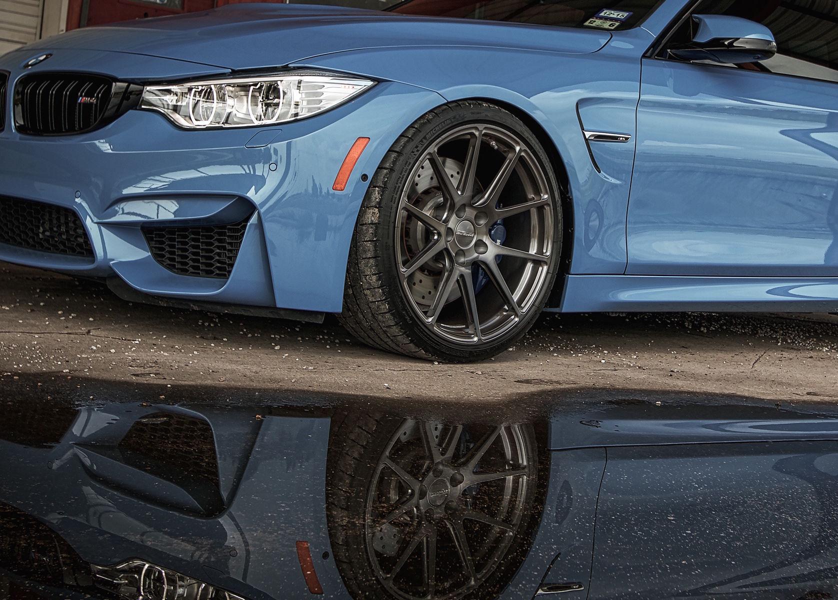 2015 BMW M4 | BMW M4 on Forgeline GA1R Wheels