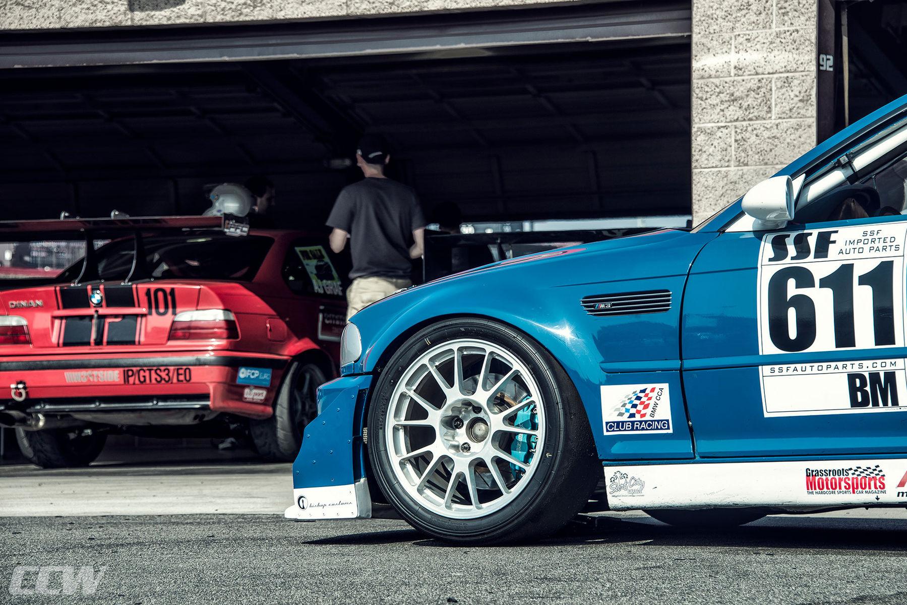 BMW M3 | BMW E46 Race Car - CCW C14 Forged Lightweight Monoblock Wheels
