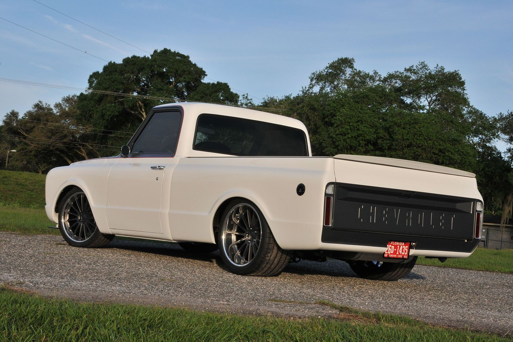 1968 Chevrolet C-10 | Tom Argue Design 1968 Chevy C10 on Forgeline MS3C Wheels