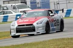Steve Keppler's Nissan GT-R on Forgeline GZ3 Wheels at USCA Daytona