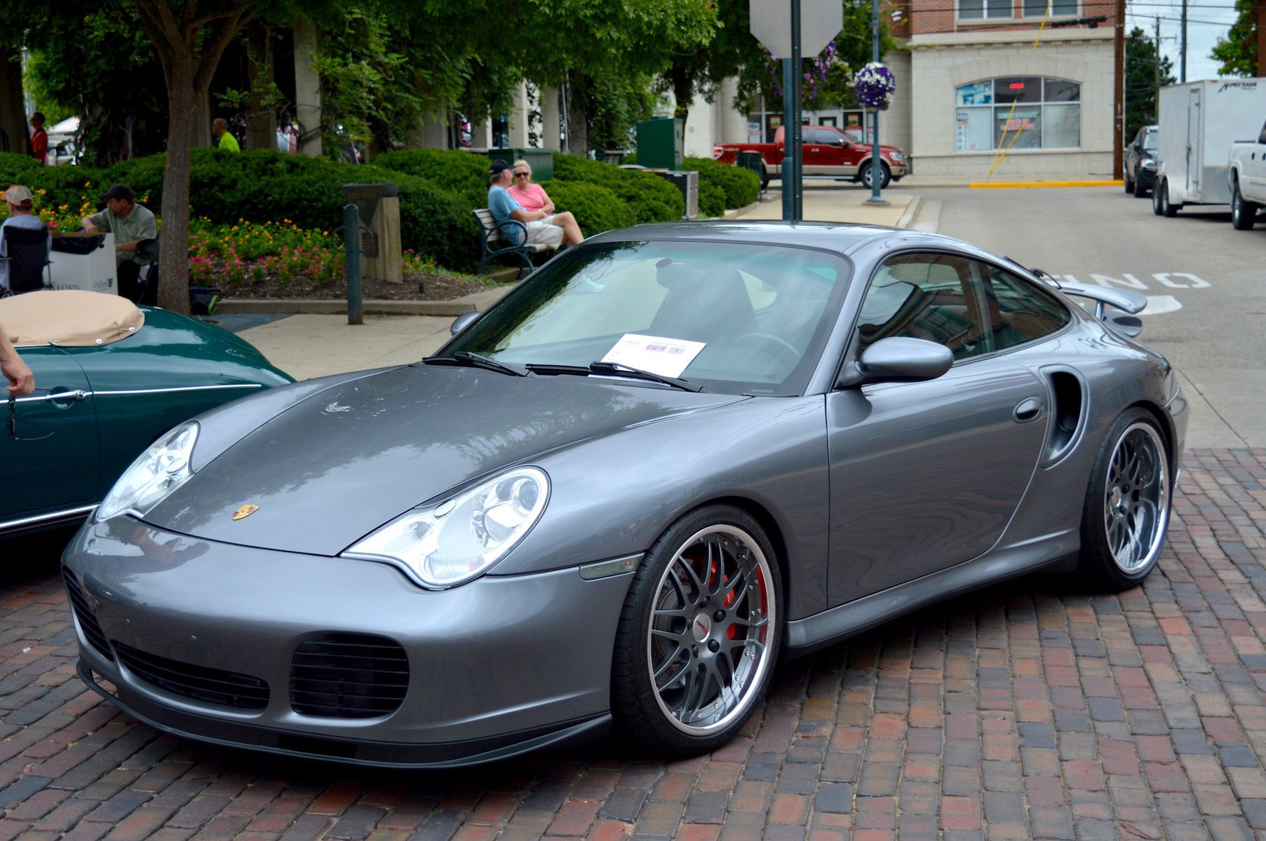2002 Porsche 911 | Ken Brightman's Porsche 996 Turbo at RBR2016 on Forgeline DE3P Wheels