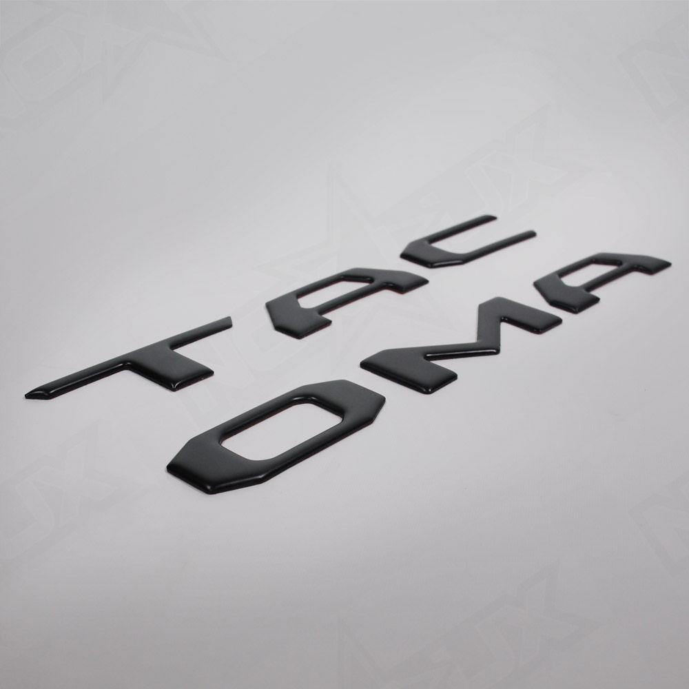 2016 Toyota Tacoma | 2016 Toyota Tacoma Tailgate Matte Black Logo Insert
