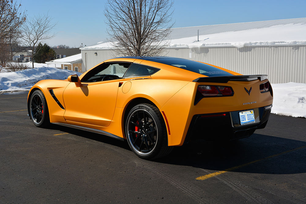 2015 Chevrolet Corvette Stingray |  LPE C7 Corvette on Forgeline VX3C Wheels