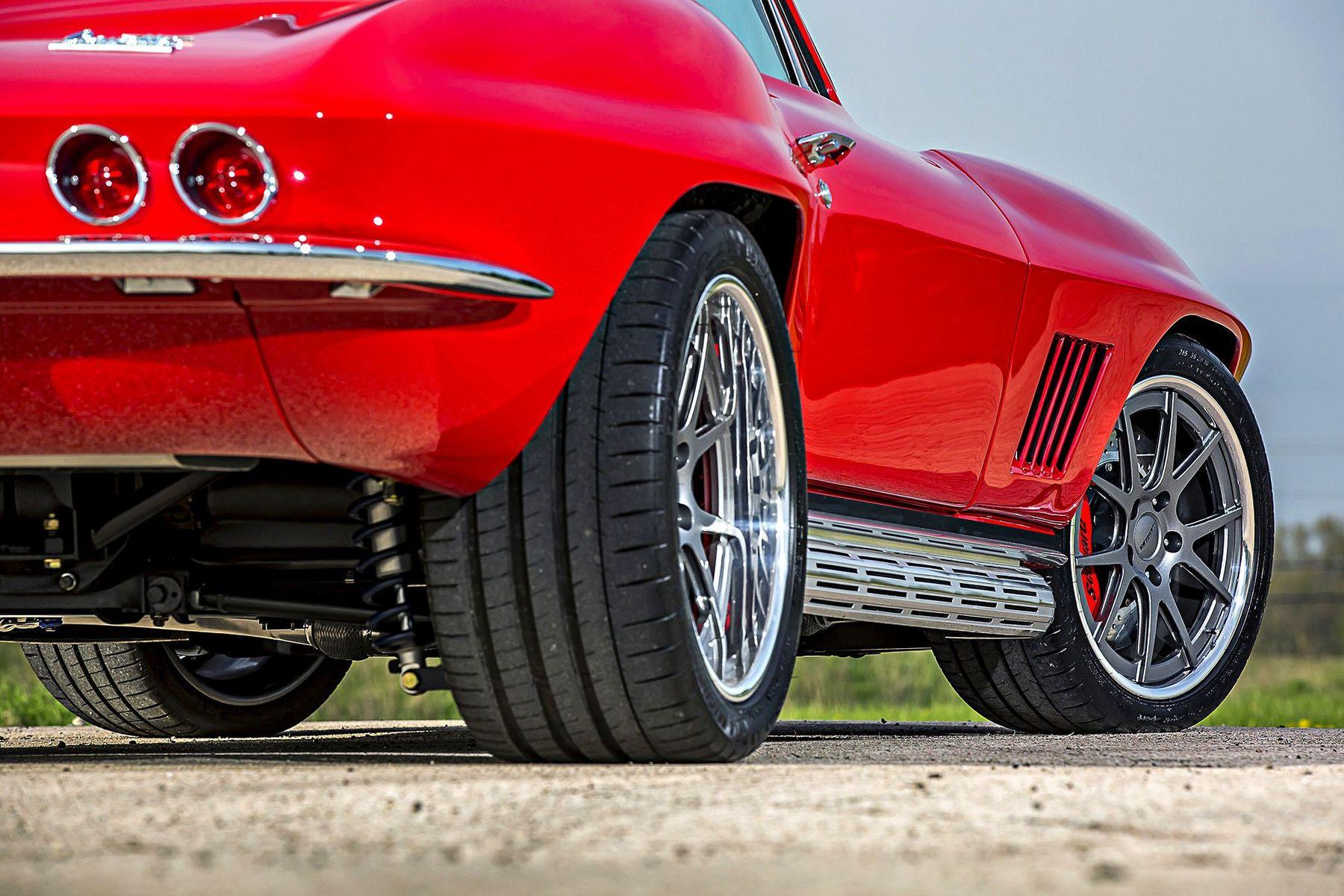 1967 Chevrolet Corvette Stingray | Paul's Schwartz Performance '67 Corvette Sting Ray Widebody on Forgeline GA3C Wheels