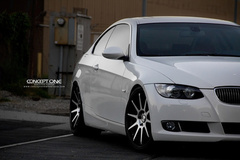 '12 BMW 335i Coupe on Concept One CS-10's
