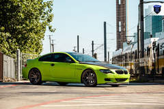 Green BMW 6 Series - Side Profile
