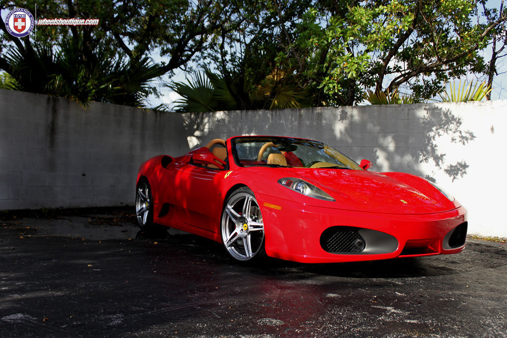 Ferrari F430   Ferrari F430 on HRE P47SC