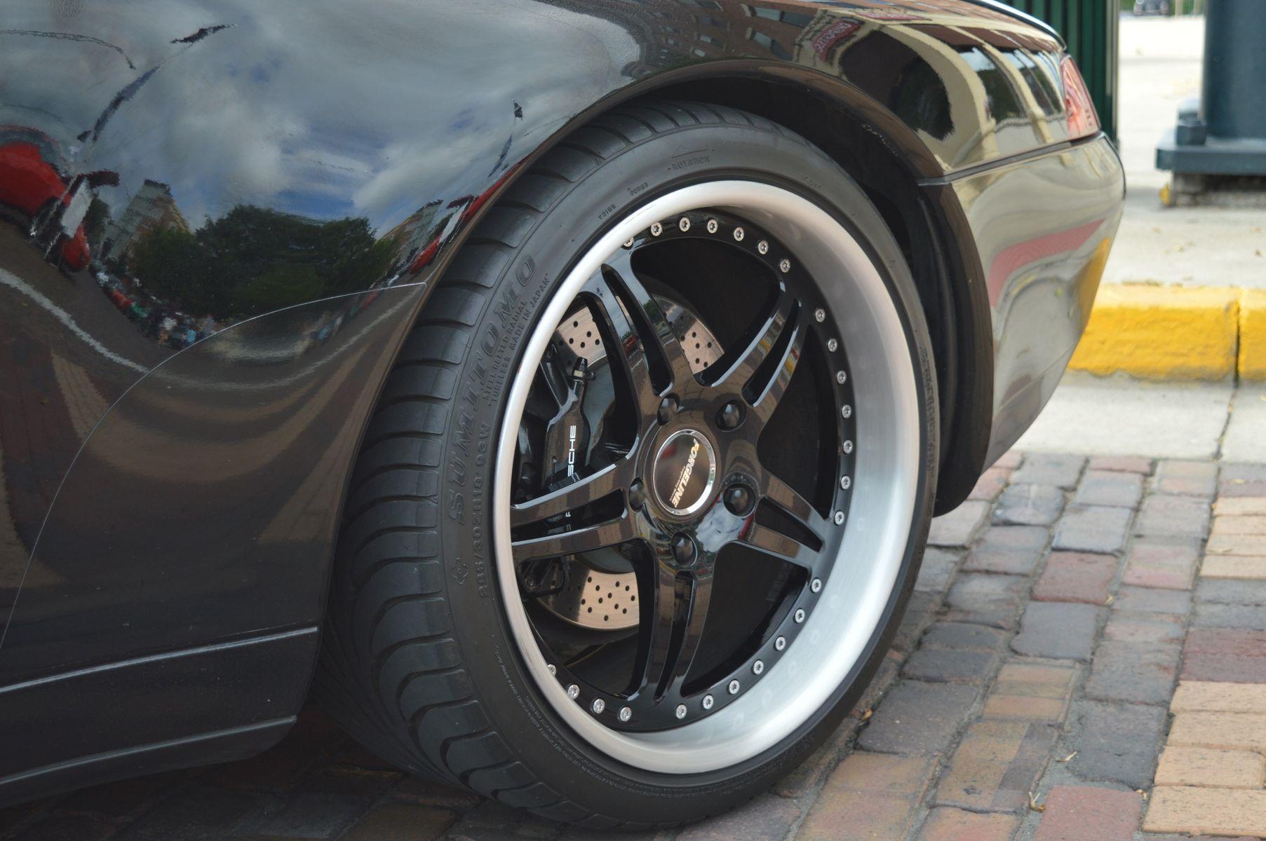 Porsche  | Yuri Rojas' Porsche 993 Convertible on Forgeline SP3P Wheels