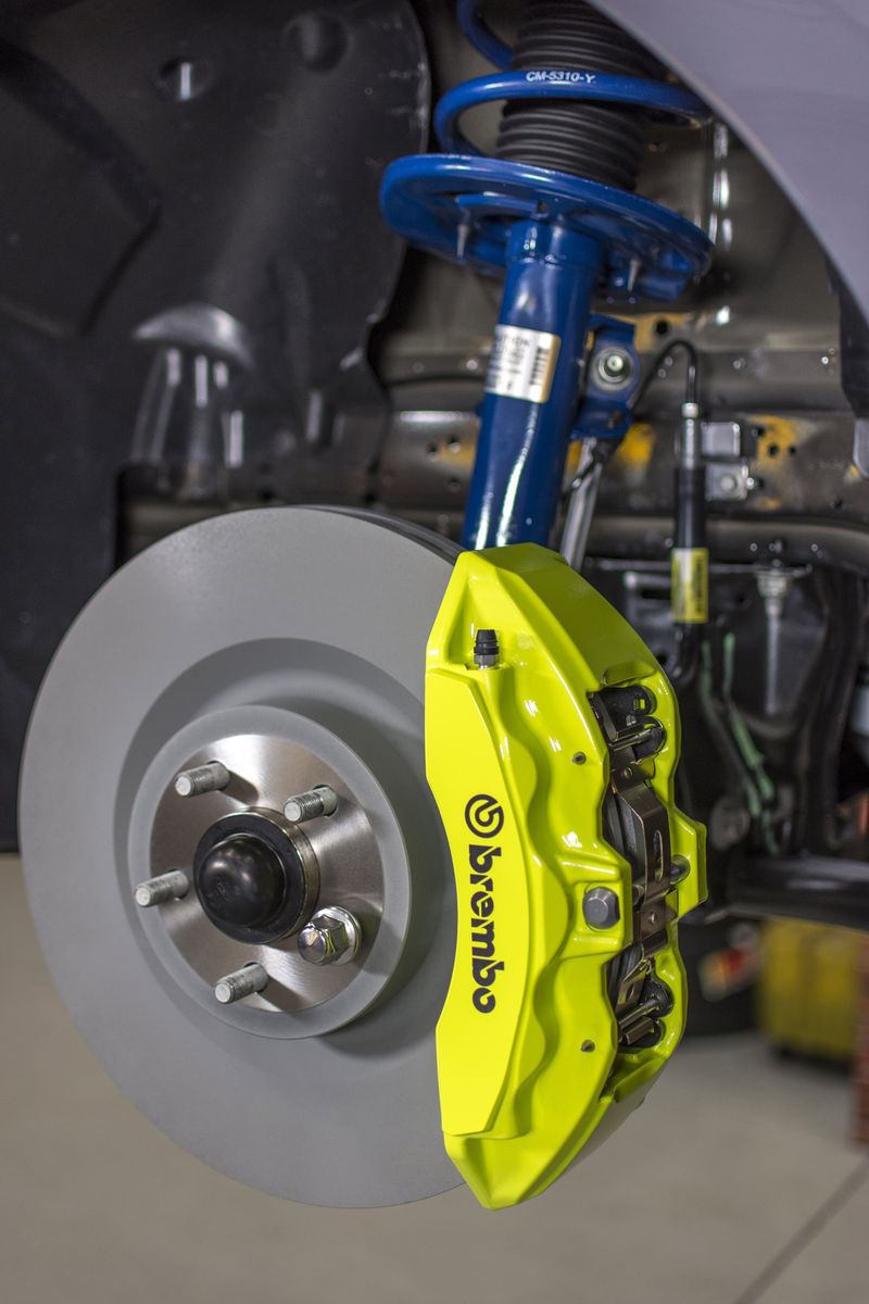 2017 Ford Mustang EcoBoost Brembo Brakes and Ford