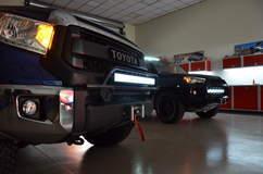 N-FAB TRD PRO Build - Toyota Tundra Lights On