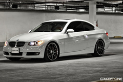 '11 BMW 328i on Concept One CS10's