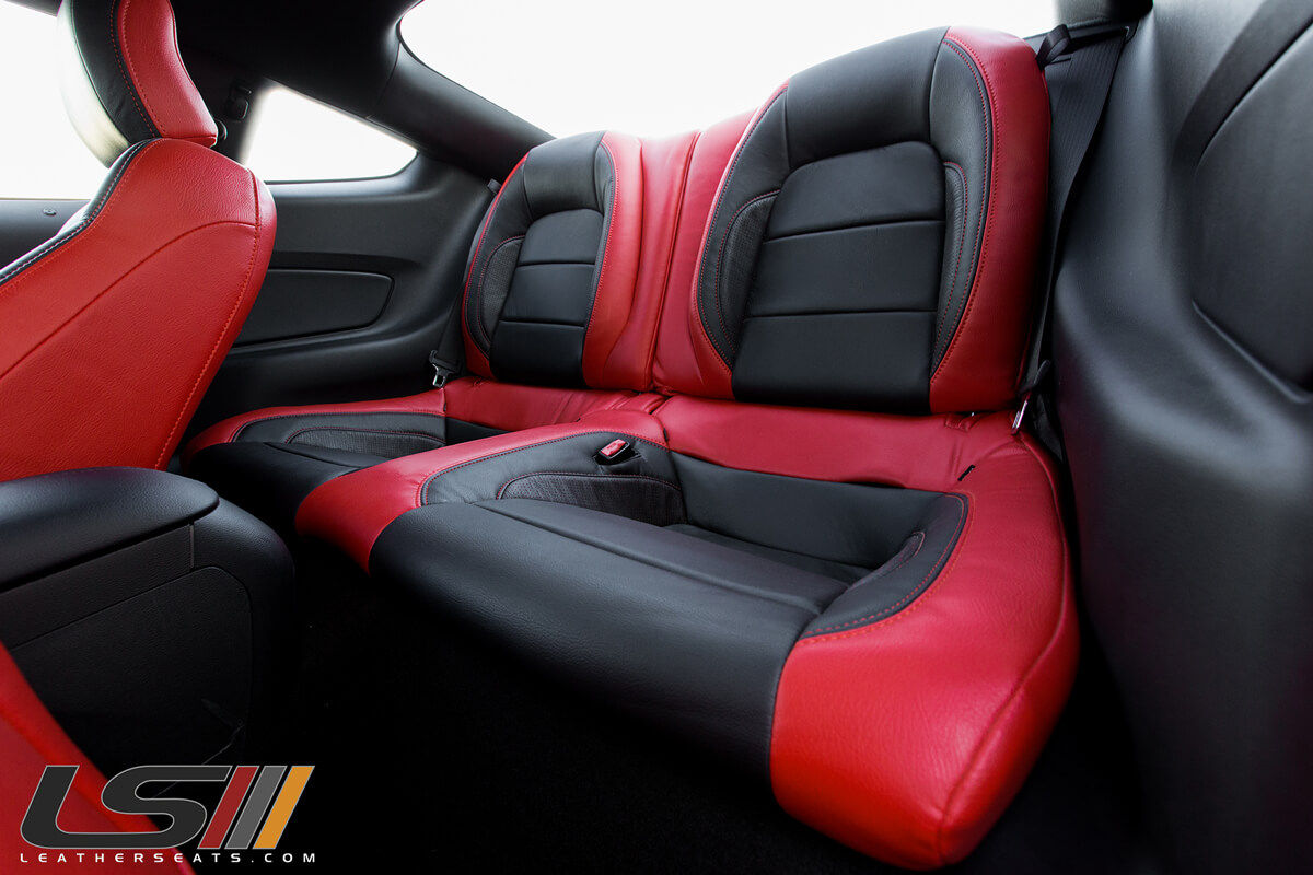 2017 Mustang Gt Leather Interior By Leatherseats Com