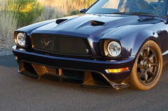 Mustang II on Grip Equipped Laguna Wheels