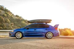 """Subaru WRX STI on 18"""" Vorsteiner V-FF 108 Wheels - Equipped By Vibe Motorsports"""