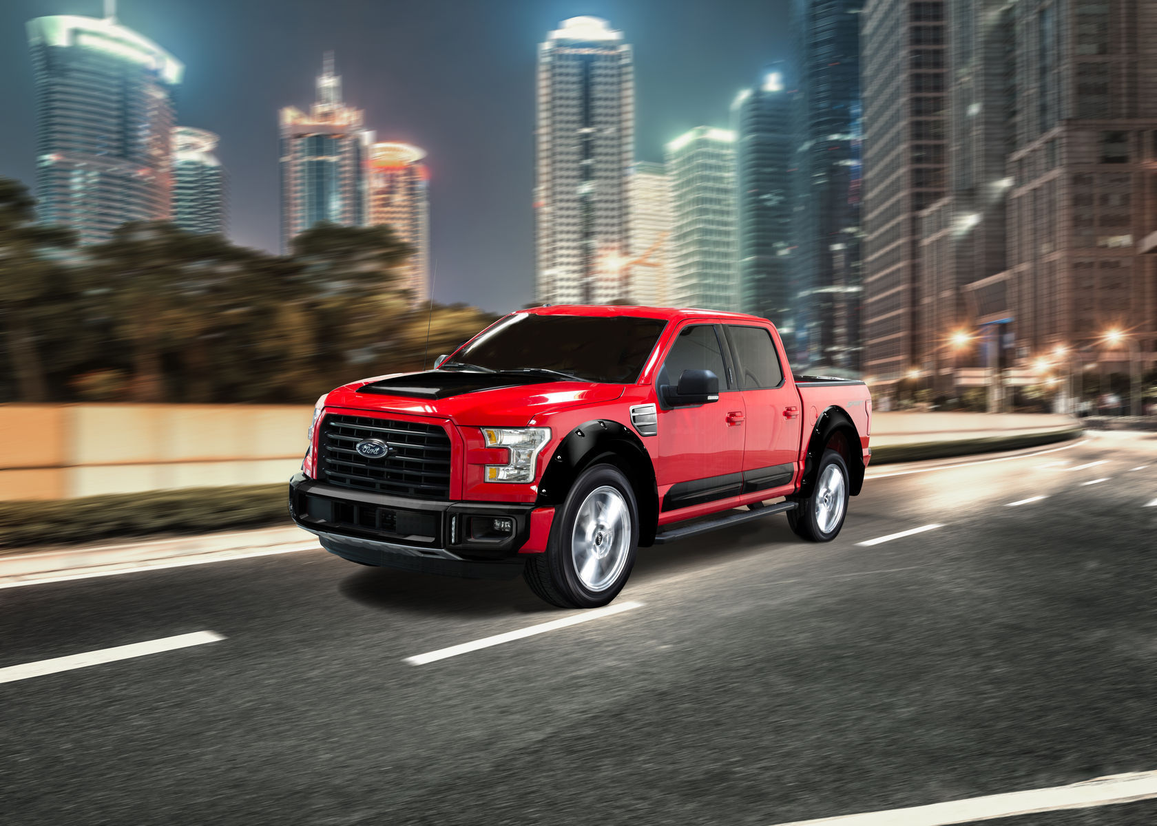 2015 Ford F-150 | 2015 AIRDESIGN Ford F-150 - Rolling Shot