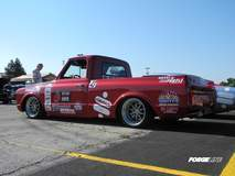 Smitty's Chevy C-10 Pickup Truck on Forgeline GZ3 Wheels