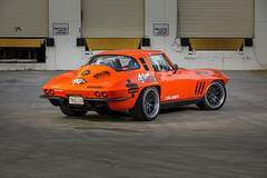 "Greg Thurmond's ""SCAR"" '65 Corvette on Forgeline DE3C Wheels"