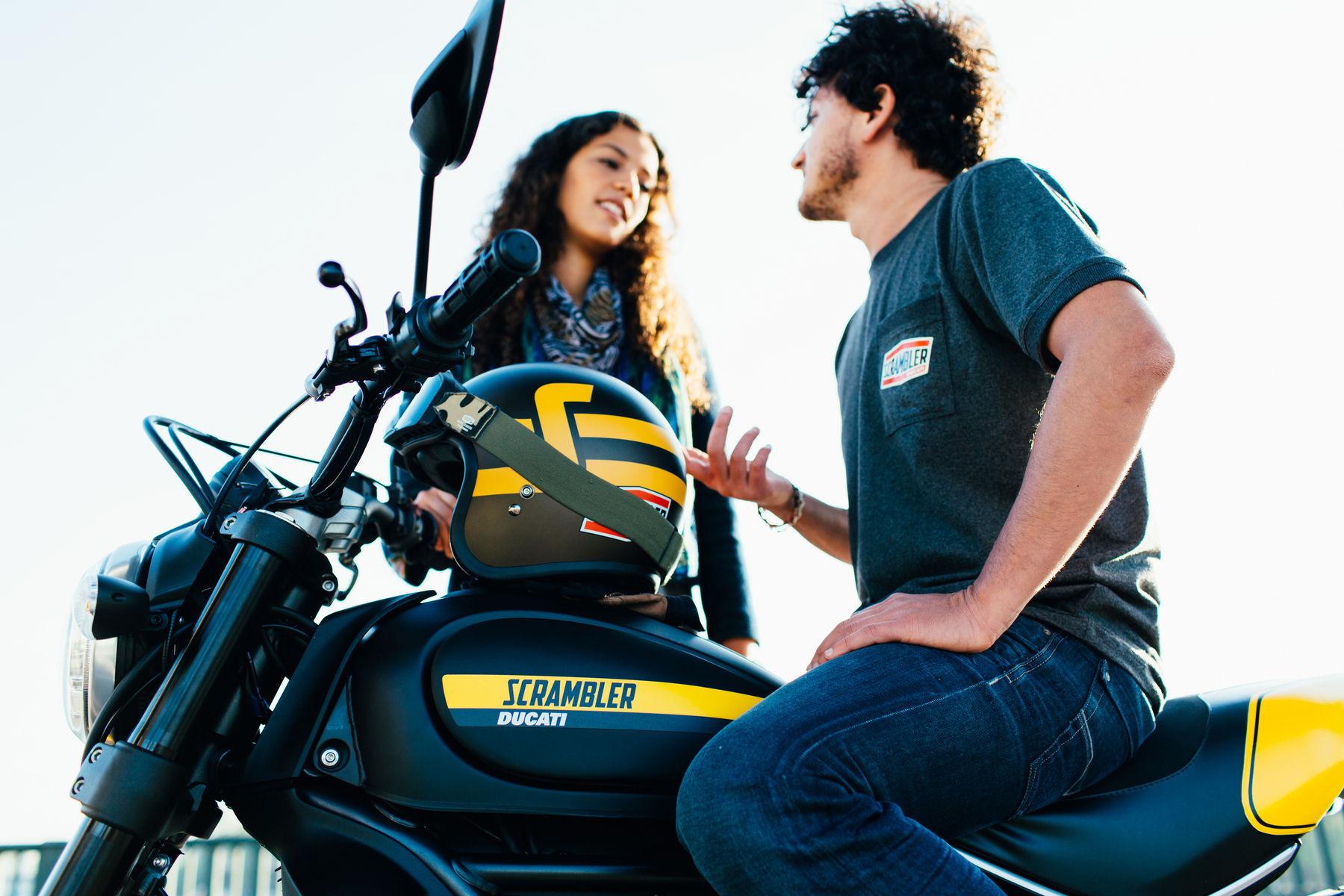 2015 Ducati Scrambler Full Throttle | Ducati Scrambler - Pre-ride Talk