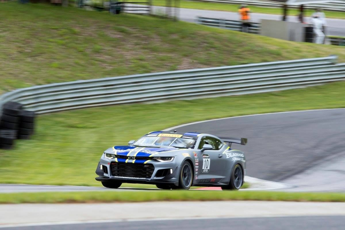 2017 Chevrolet Camaro | Lawson Aschenbach Second at Lime Rock in Camaro GT4.R on Forgeline One Piece Forged Monoblock GS1R Wheels