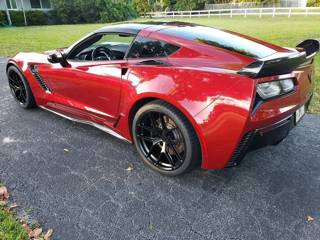 2018 Chevrolet Corvette Z06 | Paul's C7 Corvette Z06 on Forgeline One Piece Forged Monoblock VX1R Wheels from CW4L