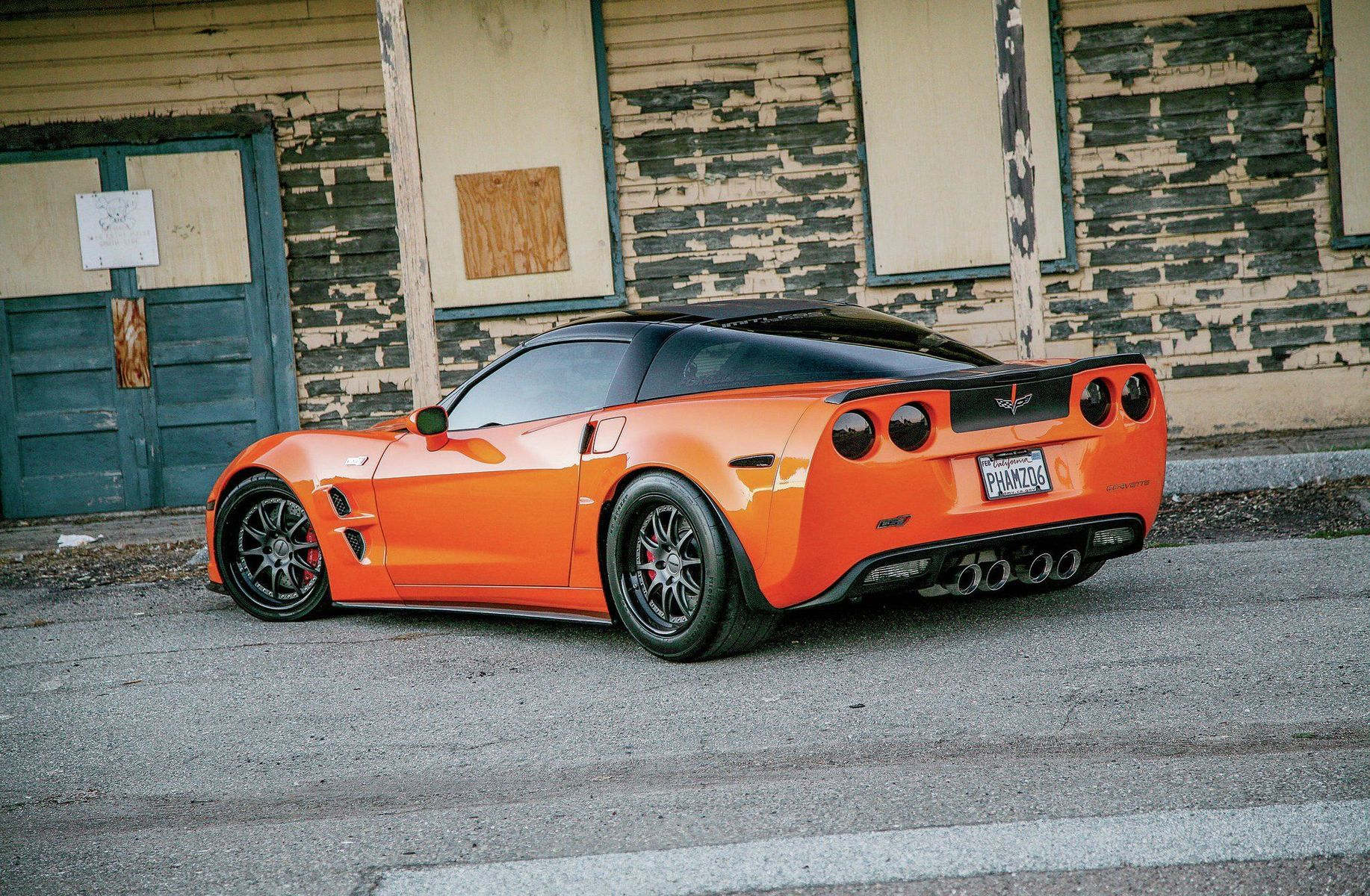 2006 Chevrolet Corvette Z06 | Jimmy Pham's Supercharged C6 Corvette Z06 on Forgeline GZ3 Wheels