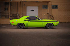Challenger by Fast Freddies Rod Shop on Forgeline ZX3R Wheels