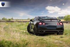 Black Nissan GTR (Godzilla) - Rear