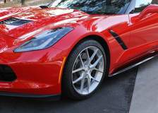 Mark's C7 Corvette Stingray on Forgeline One Piece Forged Monoblock VX1 Wheels