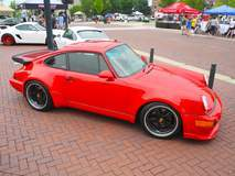 Dave Schardt's 1991 Porsche 911 Turbo on Forgeline SO3P Wheels