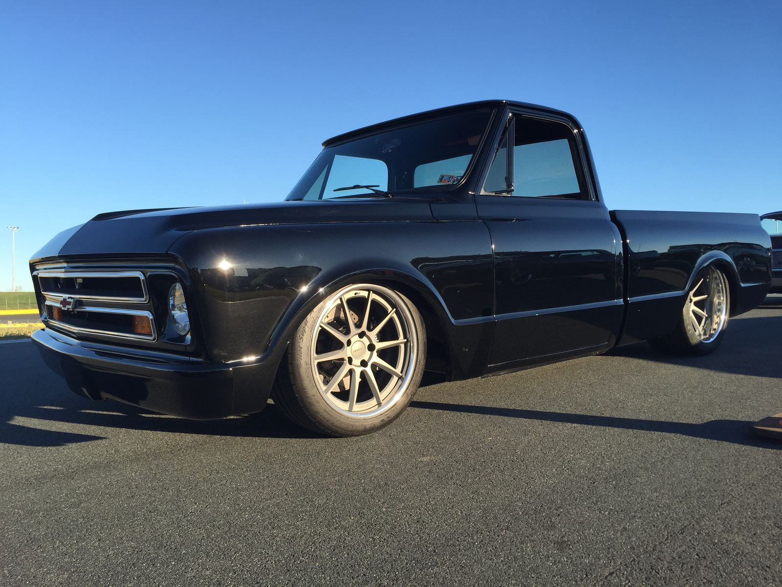 1970 Chevrolet C-10 | Steve & Danielle Locklin Earn Goodguys Charlotte Chevy Truck Pick With Their '70 C10 on Forgeline RB3C Wheels