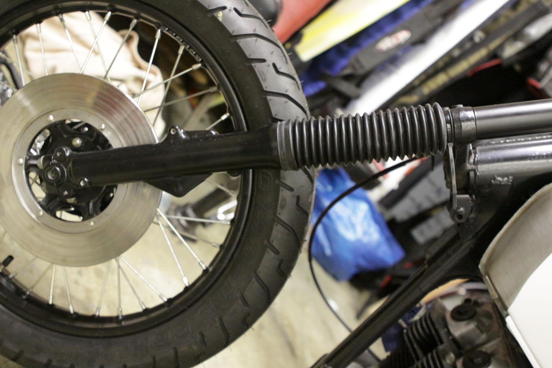 1973 Honda CB350G | Dialing in the Bullitt CB