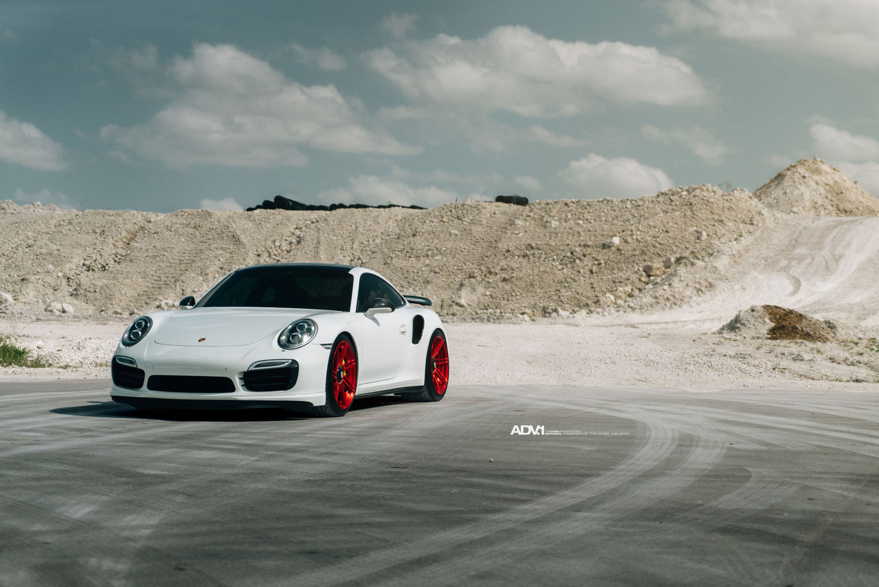 2015 Porsche 911   ADV.1 Wheels Porsche 991 Turbo S