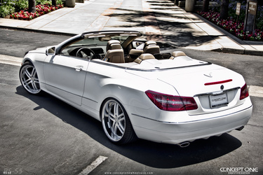 2013 Mercedes-Benz E-Class | 2013 Mercedes-Benz E-Class Convertible on Concept One RS55's