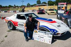 Ryan Mathews Wins Goodguys Heartland Nationals Autocross in the Detroit Speed C3 Corvette on Forgeline GA3 Wheels