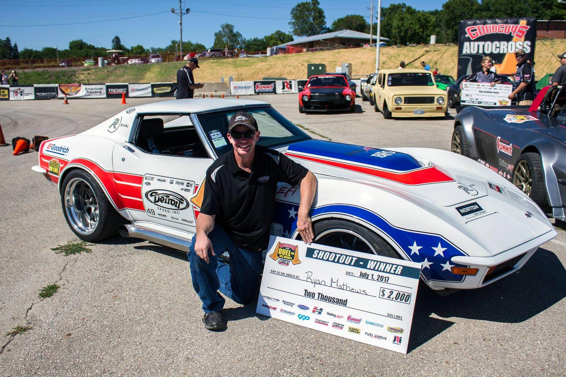 1972 Chevrolet Corvette Stingray | Ryan Mathews Wins Goodguys Heartland Nationals Autocross in the Detroit Speed C3 Corvette on Forgeline GA3 Wheels