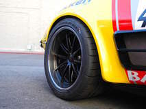 RideTech's 48 Hour Corvette at the 2015 SEMA Show on Forgeline GT3C Concave Wheels