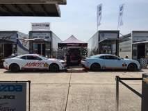 Mantella Autosport Camaros at Sebring 2015