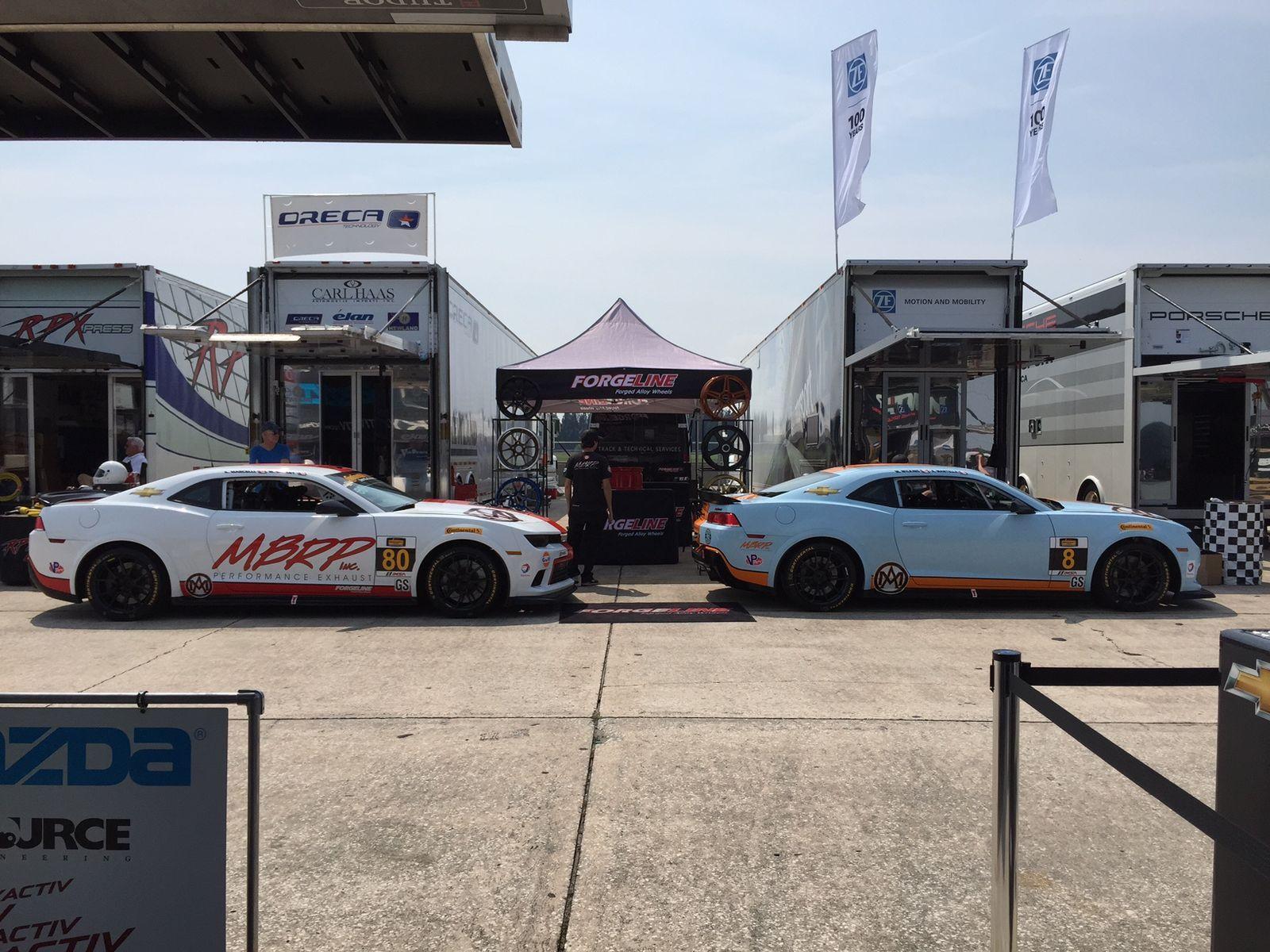 2014 Chevrolet Camaro |  Mantella Autosport Camaros at Sebring 2015