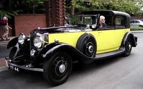 Rolls-Royce Corniche | Famous Yellow Rolls