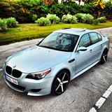 BMW M5 on XO Miami's