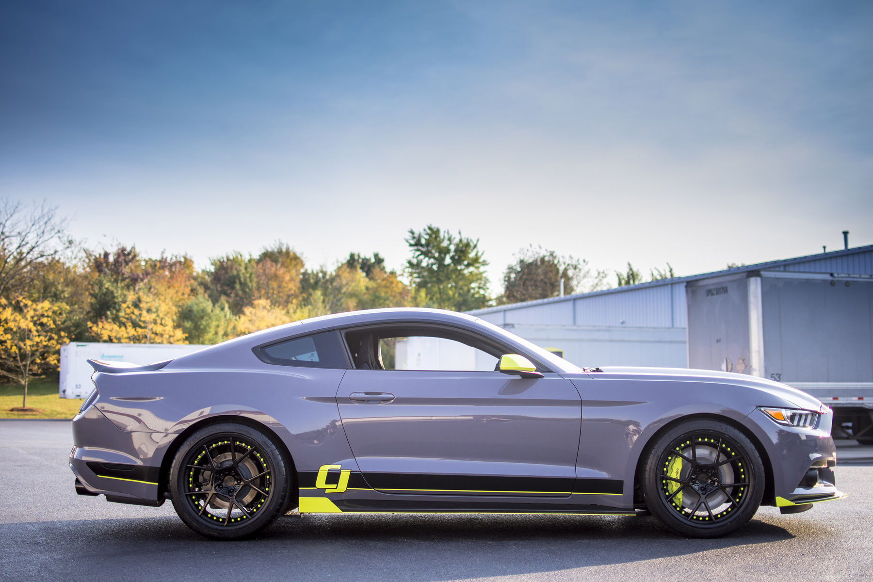 EcoBoost Mustang by CJ Pony Parts for FordSEMA