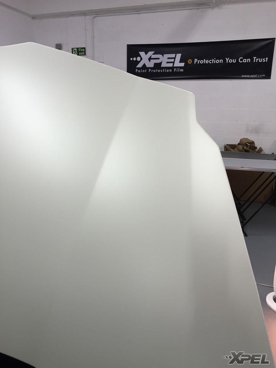 | Lamborghini Aventador wrapped in XPEL STEALTH