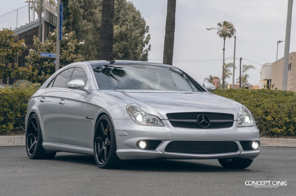 2011 Mercedes-Benz CLS-Class | 2011 Mercedes-Benz CLS55 on Concept One CS6.0's