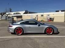 Zumac Porsche 991 GT3 on Center Locking Forgeline FU3C Wheels
