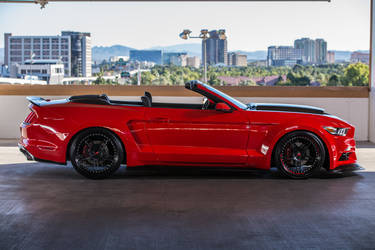 2015 Ford Mustang | 2015 TS Designs Ford Mustang - Side Widebody Stance