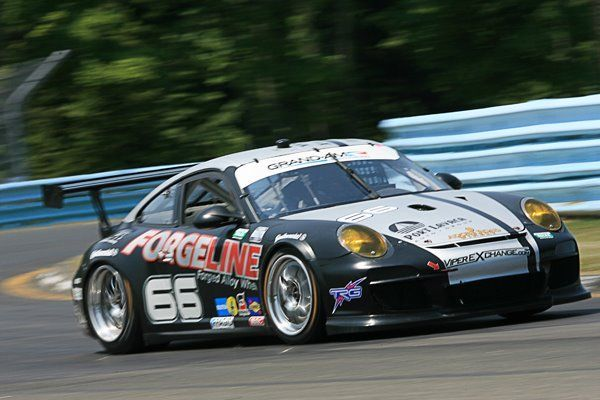 2012 Porsche 911 | Ben Keating in the #66 TRG/Forgeline Porsche on Forgeline GA3R Wheels at Watkins Glen 2012