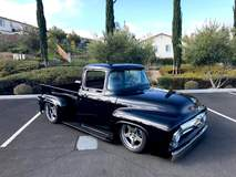 Ric Longo's 1956 Ford F100 on Forgeline Rodster Wheels