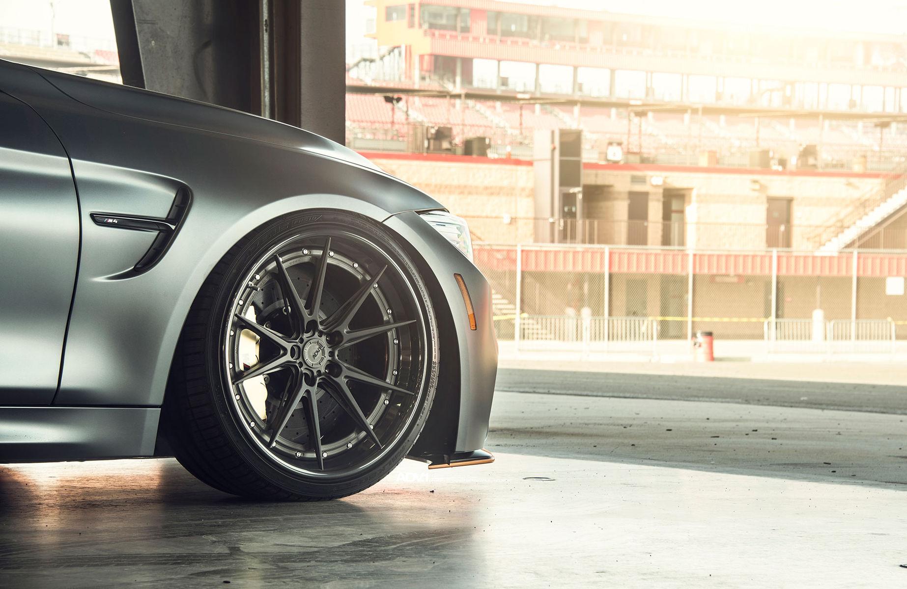 2017 BMW M4 | ADV.1 Advanced Series | Frozen Gray BMW F82 M4 GTS