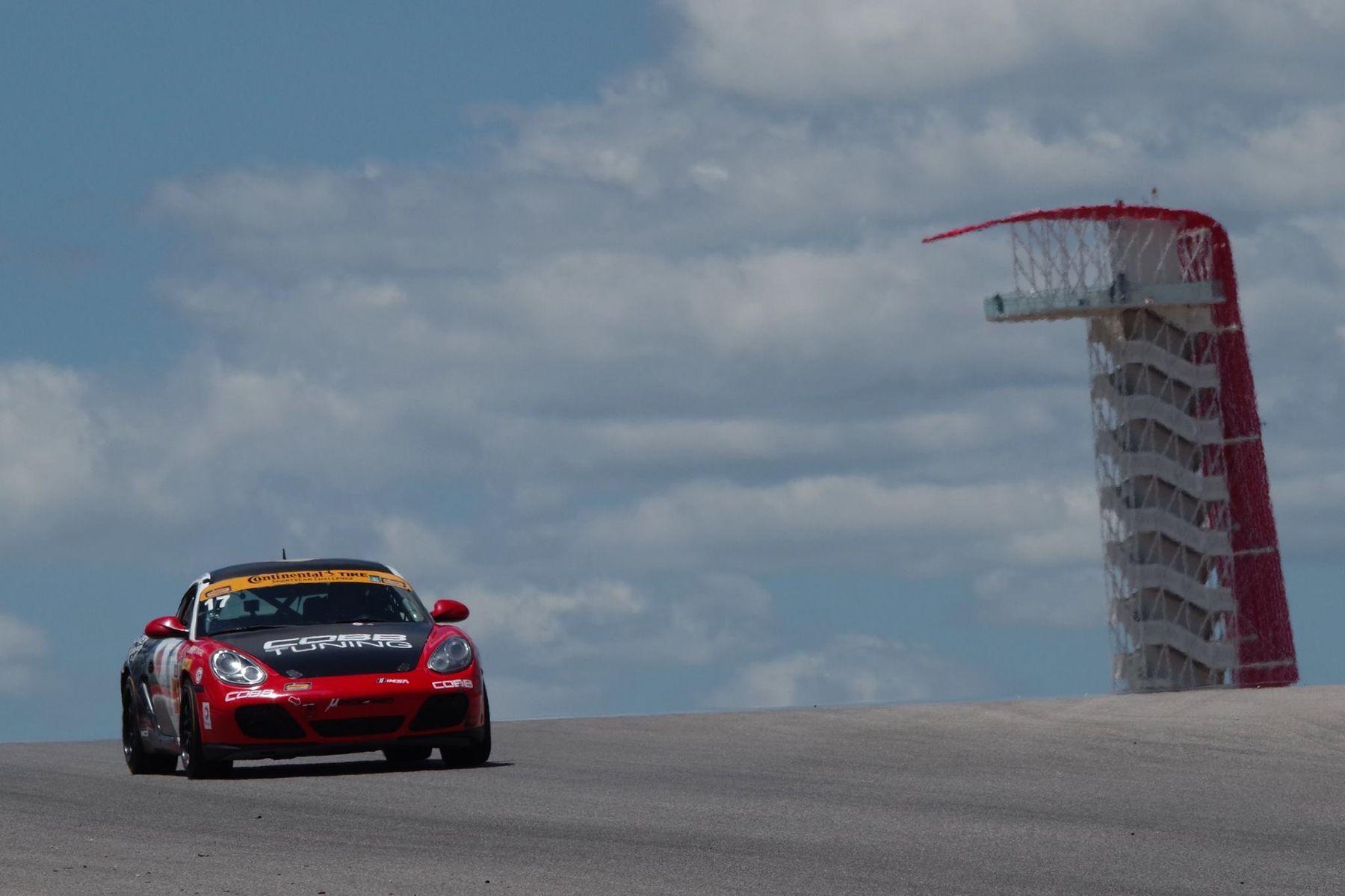 2017 Porsche Cayman | Victory in the Advance Auto Parts Sportscar Showdown at COTA
