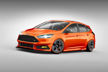 2015 Ford Focus ST | 2015 Ford Focus ST by CJ Pony Parts